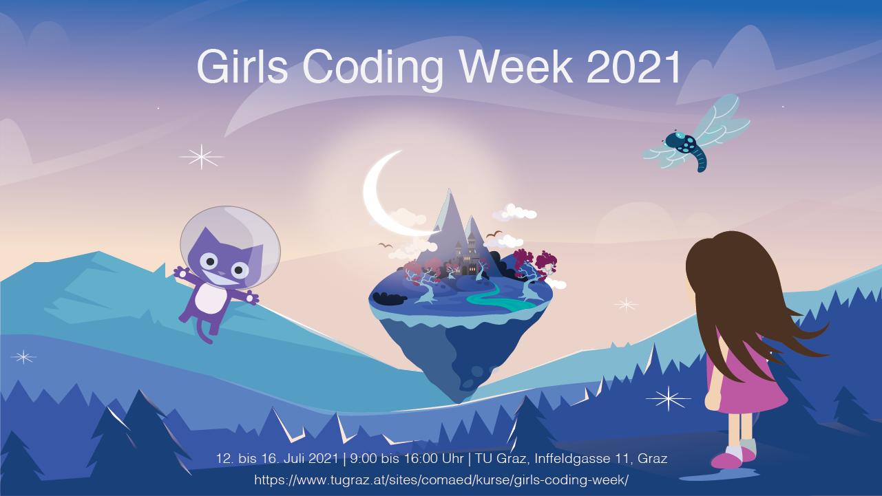 Girls Coding week 2021 banner